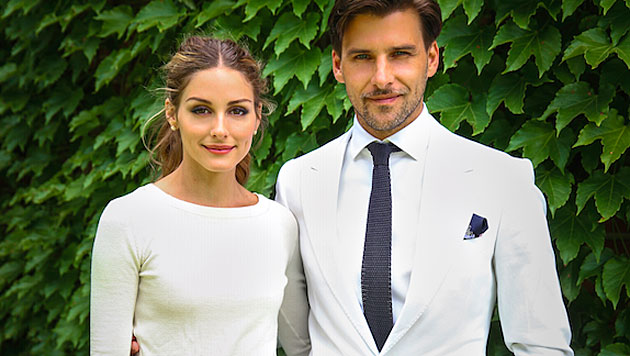 TV-Sternchen Olivia Palermo heiratete Model Hübl (Bild: twitter.com/TheRealOliviaP)
