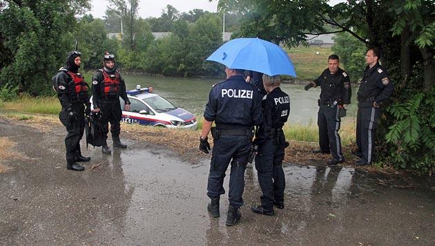 Wilde Räuberjagd im Wiener Donaukanal (Bild: Andi Schiel)