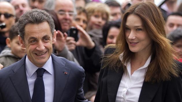 Frankreich: Sarkozy will wieder Präsident werden (Bild: IAN LANGSDON/EPA/picturedesk.com)