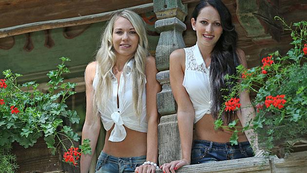 Das sind unsere sexy Jungbäuerinnen und Jungbauern (Bild: Peter Tomschi)