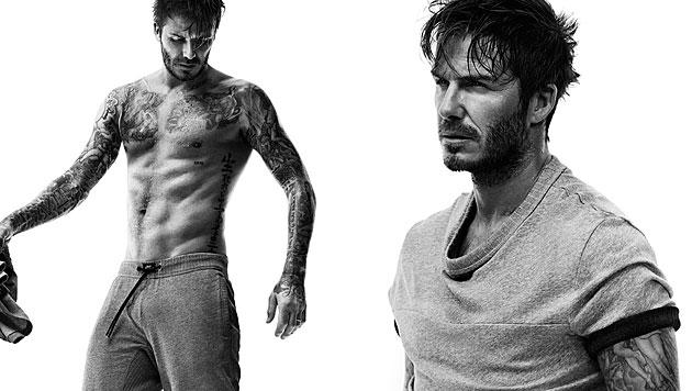 Für H&M kreierte David Beckham auch im Herbst wieder eine neue Wäschekollektion. (Bild: H&M)
