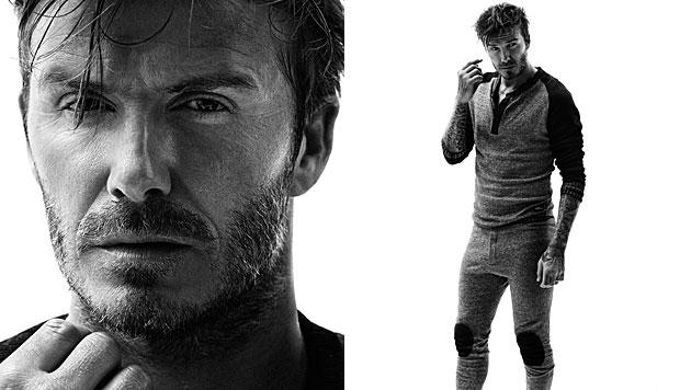 David Beckham trägt Jay-Z-Tattoo auf der Hand (Bild: H&M)