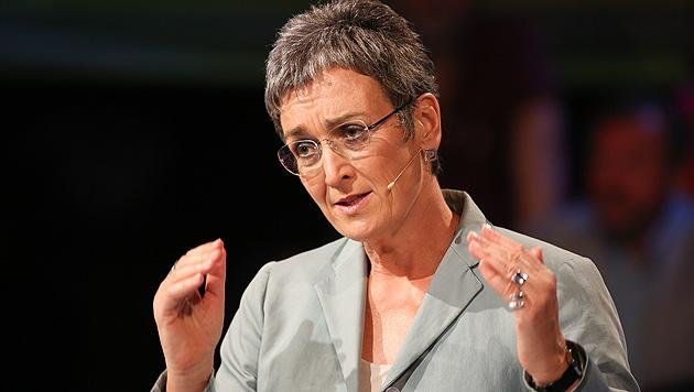 EU-Parlament: Lunacek zur Vizepräsidentin gewählt (Bild: ORF/Milenko Badzic)
