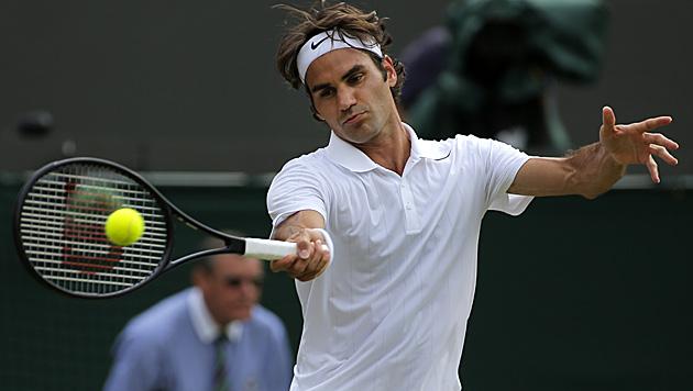 Federer nun sogar Topfavorit für US Open (Bild: AP)
