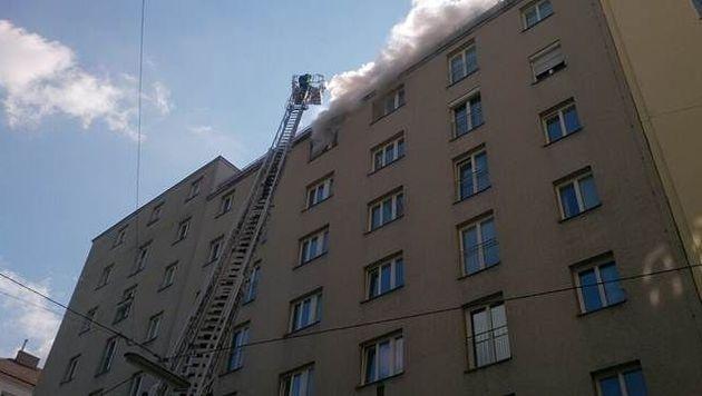 Mann stirbt bei Wohnungsbrand in Wiener Innenstadt (Bild: Erich Schönauer)