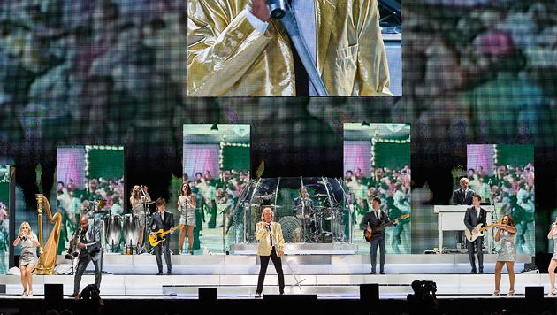 Rod Stewart mit sportlich-glamouröser Show in Wien (Bild: Andreas Graf)