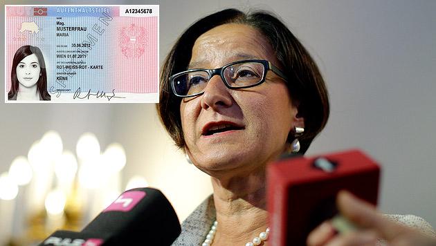 Rot-Weiß-Rot-Karte: ÖVP will Zugangshürden senken (Bild: APA/Georg Hochmuth, APA/Bundesministerium für Inneres)