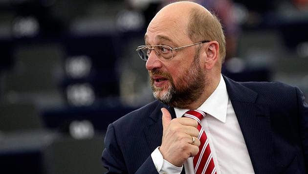 EU-Parlamentspräsident Martin Schulz (Bild: APA/EPA/OLIVIER HOSLET)