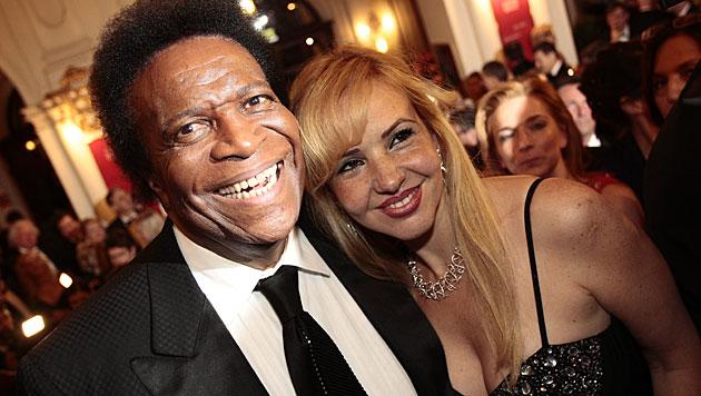 Roberto Blanco mit seiner Luzandra (Bild: APA/ERWIN SCHERIAU)