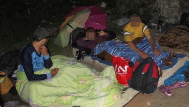 Bettler-Kinder schlafen in Salzburg unter Brücken (Bild: Magistrat)