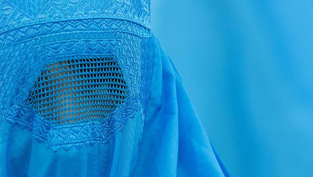 Eine Frau in Burka (Bild: APA/dpa/Boris Roessler)