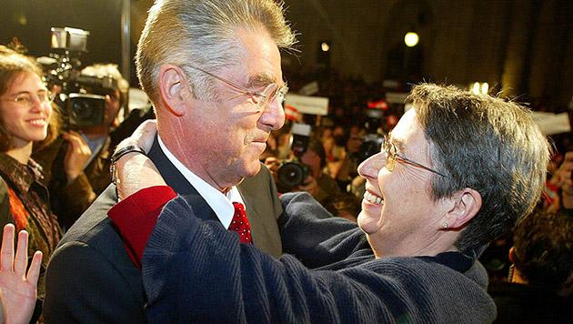 Fischers Ehefrau Margit musste sich nun auf ein Leben als First Lady einstellen (Bild: APA/Hans Klaus Techt)