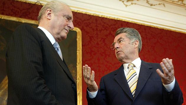 Fischers Vorgänger Thomas Klestil starb am 6. Juli - noch vor der Angelobung des neuen Präsidenten (Bild: APA/Roland Schlager)