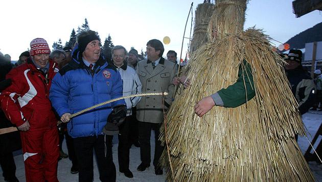 2006 bei der Eröffnung der Skiflug-WM in Bad Mitterndorf (Bild: APA/Dragan Tatic/Hbf)