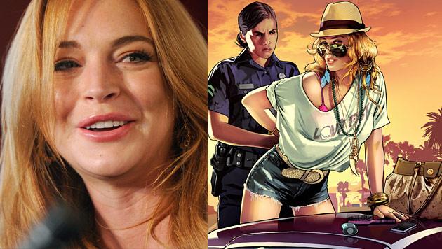 "Lindsay Lohan verklagt ""Grand Theft Auto V""-Macher (Bild: Rockstar Games, AP)"