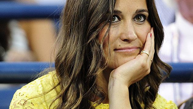 In Wimbleton ist Pippa Stammgast. Allerdings nur als Zuschauerin. (Bild: JASON SZENES/EPA/picturedesk.com)