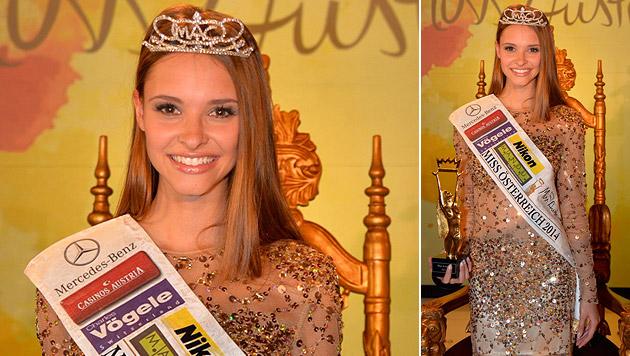 """Julia Furdea (19) aus Oberösterreich ist """"Miss Austria 2014"""". (Bild: Andreas Tischler)"""