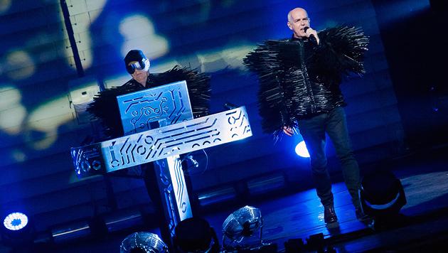 Pet Shop Boys brachten Disco-Feeling zum Jazzfest (Bild: Andreas Graf)