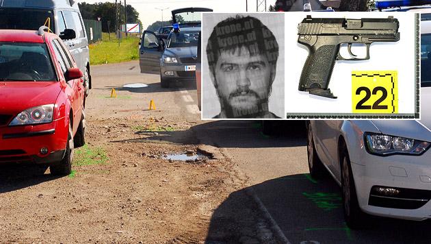 Räuber erschossen: Polizisten stundenlang verhört (Bild: APA/THOMAS LENGER, APA/LPD NIEDERÖSTERREICH, Helmut Horvath)