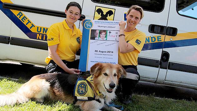 Am 30. August organisieren die Rettungshunde Niederösterreich eine Benefizveranstaltung. (Bild: Rettungshunde Niederösterreich)
