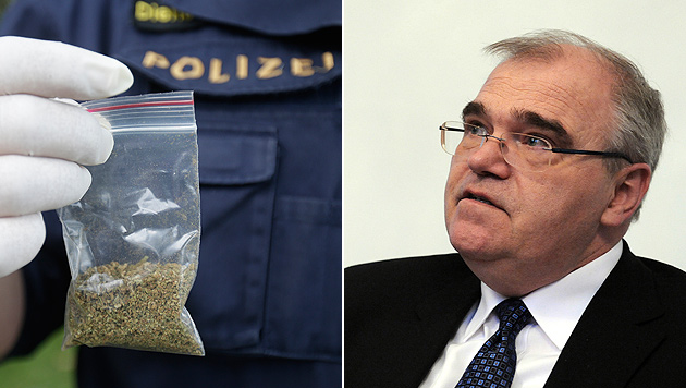 """Brandstetter: """"Legalisierung ist gar kein Thema"""" (Bild: APA/HERBERT PFARRHOFER/GEORG HOCHMUTH)"""