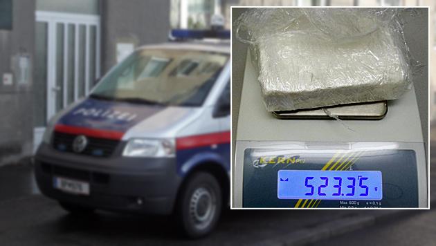 Polizei legt Drogenhändler-Trio in OÖ das Handwerk (Bild: APA/POLIZEI, Andi Schiel)