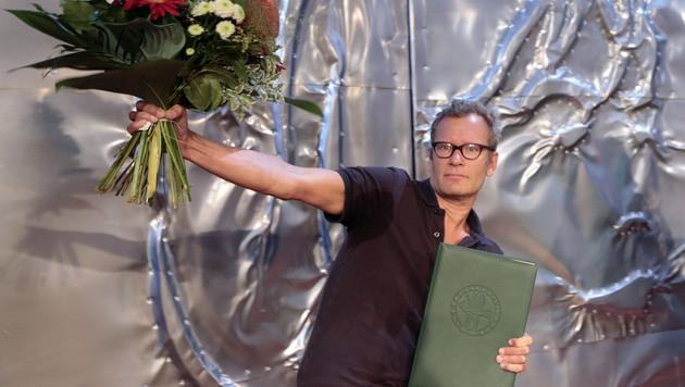 38. Bachmann-Preis geht an Tex Rubinowitz (Bild: APA/GERT EGGENBERGER)