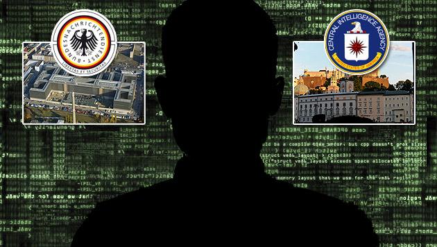 So fädelte BND-Mann Deal mit CIA in Salzburg ein (Bild: thinkstockphotos.de, APA/Barbara Gindl, euroluftbild.de/Grahn)