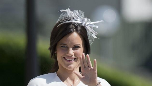 Künftige Prinzessin mit kleinem Schönheitsfehler (Bild: AFP JONATHAN NACKSTRAND)