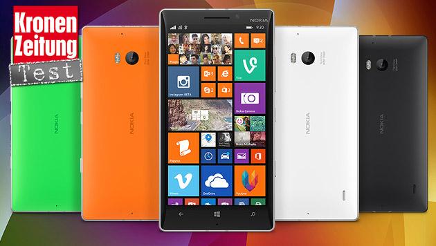 Licht und Schatten: Nokias Lumia 930 im Praxistest (Bild: Nokia, krone.at-Grafik)