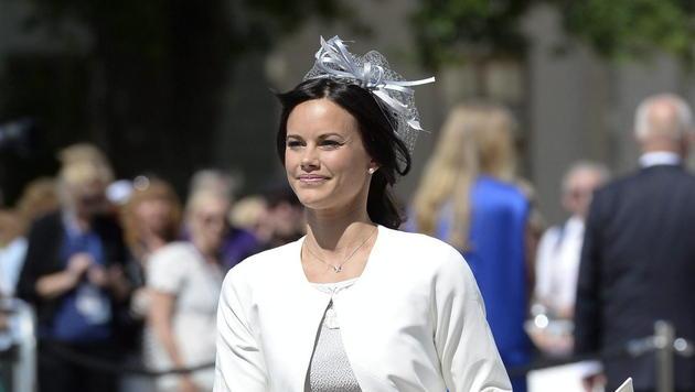 Sofia Hellqvist: Hochzeit der Dessous-Prinzessin (Bild: EPA JESSICA GOW)