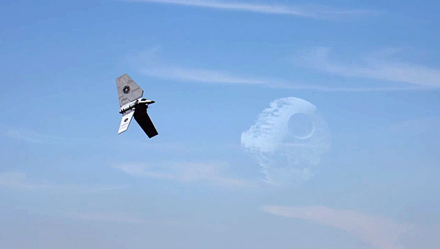 """Star Wars"" erobert den Frankfurter Flughafen (Bild: YouTube.com)"