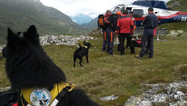 74-jährige Alpinistin in den Tod gestürzt (Bild: APA/BERGRETTUNG/PFEIFENBERGER)