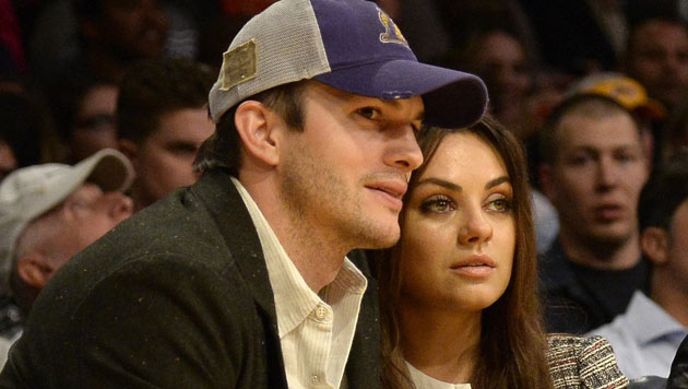 Seit 2012 sind Ashton Kutcher und Mila Kunis bereits ein Paar. (Bild: AP)