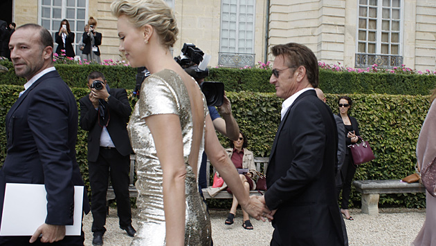 Charlize Theron und Sean Penn (Bild: AP)