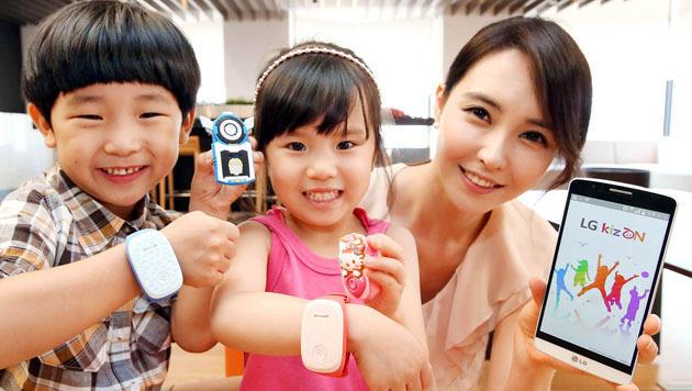 LG enthüllt GPS-Armband zur Kinderüberwachung (Bild: LG Electronics)