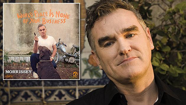 Morrissey vermixt Flamenco-Rhythmen mit Rock (Bild: Universal Music)