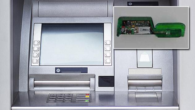 Winzige Bankomat-Wanzen sind auf dem Vormarsch (Bild: EAST, thinkstockphotos.de)