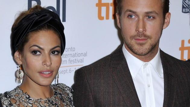Eva Mendes und Ryan Gosling sind Eltern geworden (Bild: EPA)