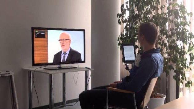 OÖ: Student entwickelte Sprachsteuerungs-App (Bild: FH OÖ)