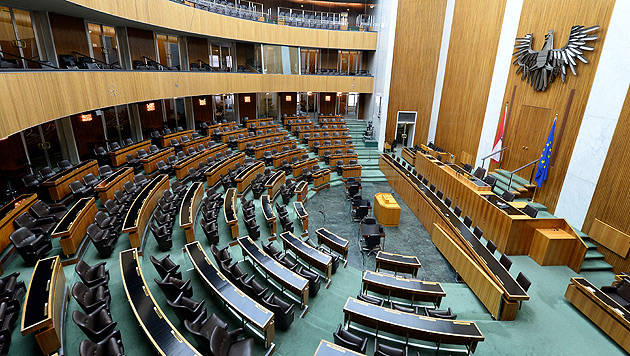 Parlament geht in die Sommerpause: 75 Tage frei (Bild: APA/ROLAND SCHLAGER)