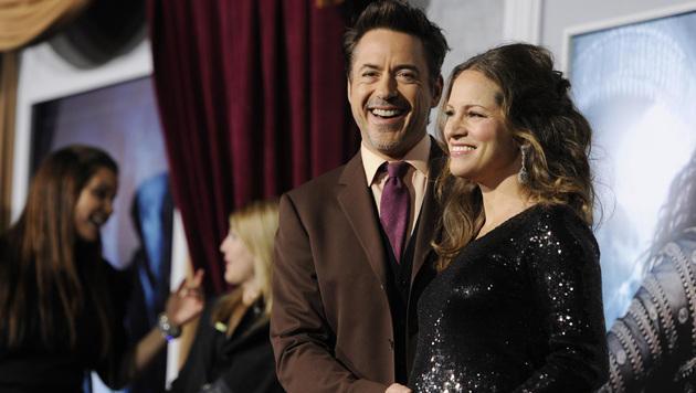 Robert Downey Jr. wird zum dritten Mal Vater (Bild: AP)