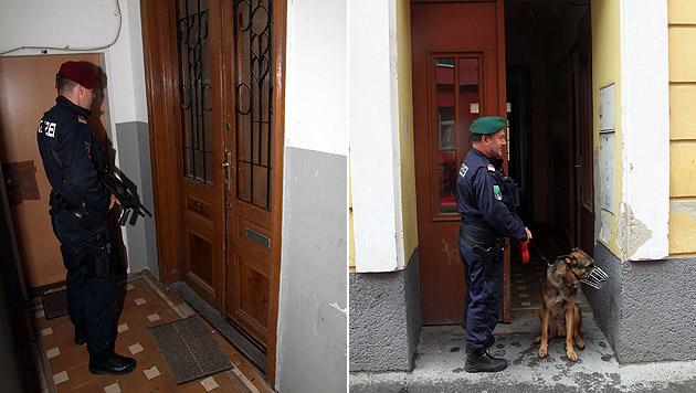 Bandenkrieg in Wien: Mann (33) unter Polizeischutz (Bild: Andi Schiel)