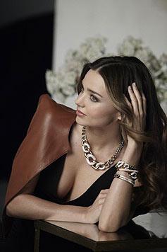 Miranda Kerr in der Herbstkampagne des österreichischen Kristallkonzerns Swarovski. (Bild: Swarovski)