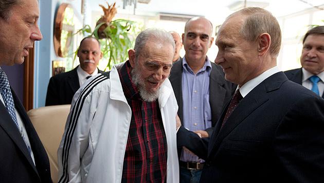 Kubas Ex-Präsident Fidel Castro (90) verstorben (Bild: AP)