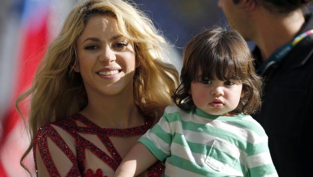 Shakiras zweites Kind wird wieder ein Bub (Bild: AP)