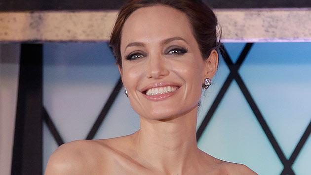 Sex-Szenen darf Brad Pitt nur mehr mit Angelina Jolie drehen. (Bild: AP)