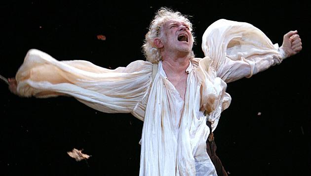"""Gert Voss als Lear, König von Britannien in """"König Lear"""" 2007 im Wiener Burgtheater. (Bild: APA/HANS KLAUS TECHT)"""