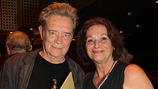 Gert Voss mit Ehefrau Ursula (Bild: APA/FRANZ NEUMAYR)