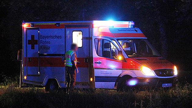 Salzburger Polizei fahndet nach Mörder aus Bayern (Bild: Bayerisches Rotes Kreuz (Symbolbild))